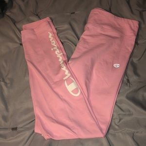 Pink champion leggings
